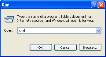 how to find my ip address run cmd